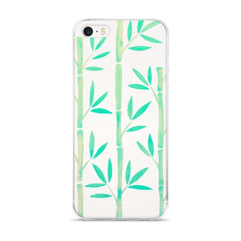 Bamboo – Mint Palette  •  iPhone 5/5s/Se, 6/6s, 6/6s Plus Case