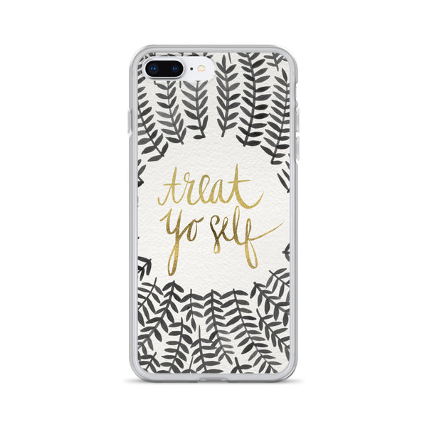 Treat Yo Self – Black Palette • iPhone Case