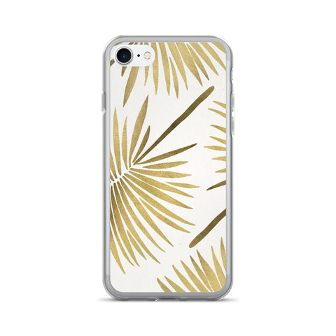 Fan Palm – Gold Palette • iPhone 7/7 Plus Case