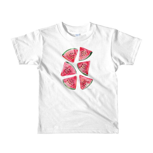 Watermelon Slices • Short sleeve kids t-shirt