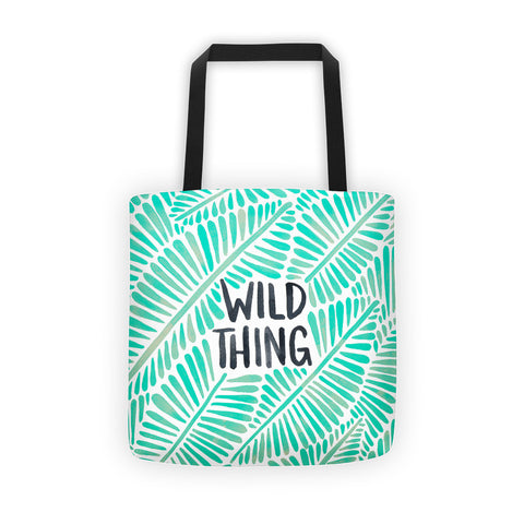 Wild Thing – Mint Palette  •  Tote Bag
