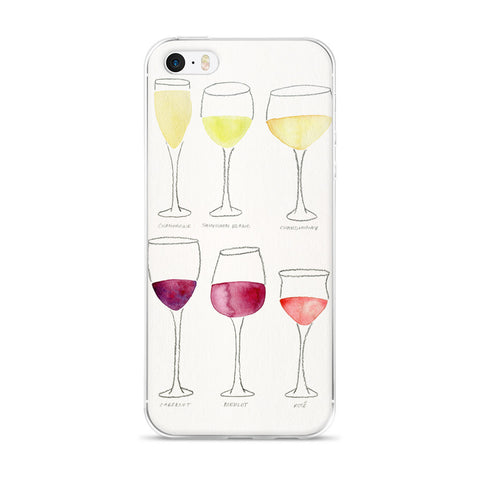 Wine Collection  •  iPhone 5/5s/Se, 6/6s, 6/6s Plus Case