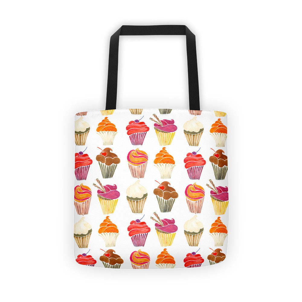 Cupcakes – Rainbow Palette  •  Tote Bag