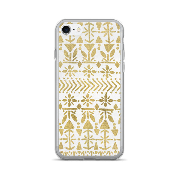 Norwegian Pattern – Gold Palette • iPhone 7/7 Plus Case