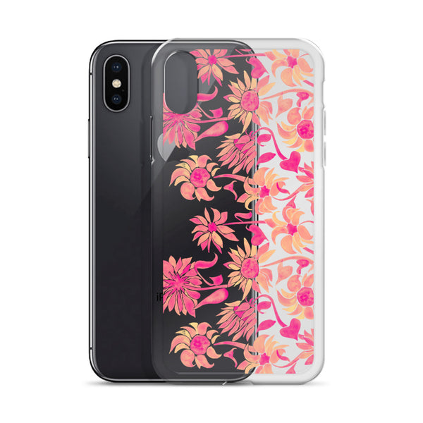 Sunflower Watercolor – Pink Palette • iPhone Case