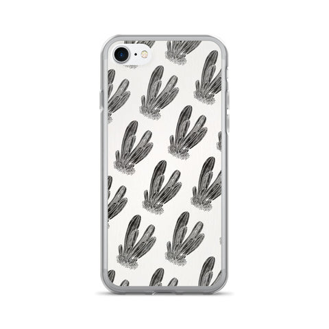 Cactus Cluster – Black Palette • iPhone 7/7 Plus Case