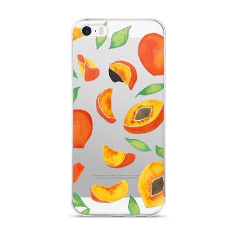 Peaches  •  iPhone 5/5s/Se, 6/6s, 6/6s Plus Case (Transparent)
