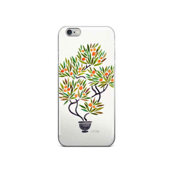 Bonsai Fruit Tree – Little Oranges  •  iPhone 5/5s/Se, 6/6s, 6/6s Plus Case