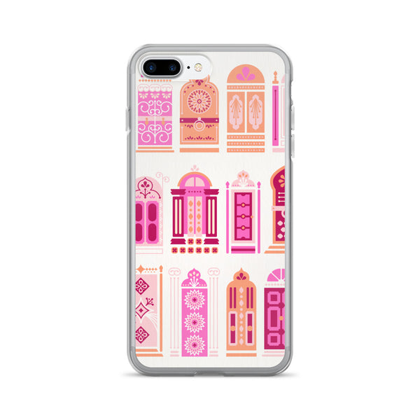 Moroccan Doors – Peachy Pink Palette • iPhone 7/7 Plus Case