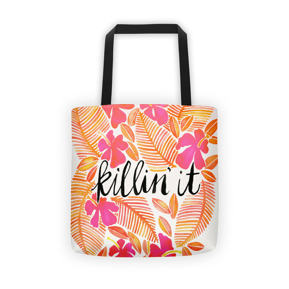 Killin' It – Melon Ombré Palette  •  Tote Bag
