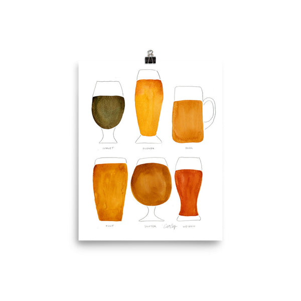 Beer Collection • Art Print