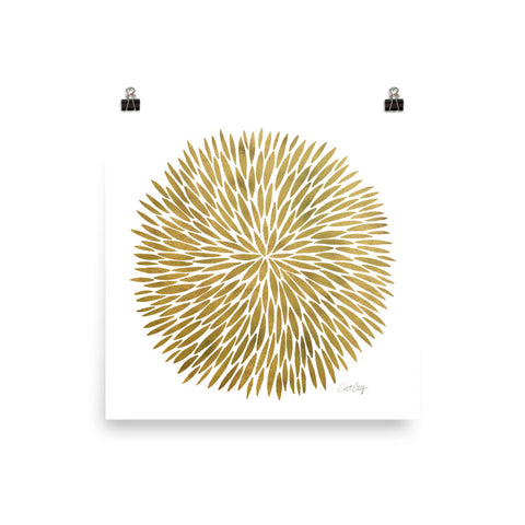 Golden Burst • Art Print