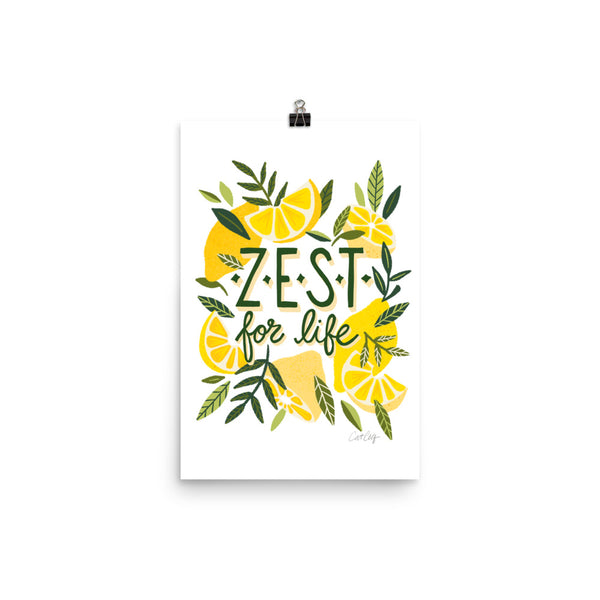 Zest for Life - Yellow White