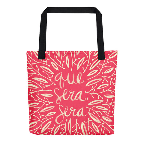 Whatever Will Be, Will Be – Illustrated Melon Palette • Tote Bag