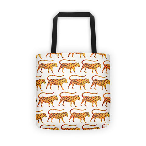 Jaguar Pattern • Tote Bag