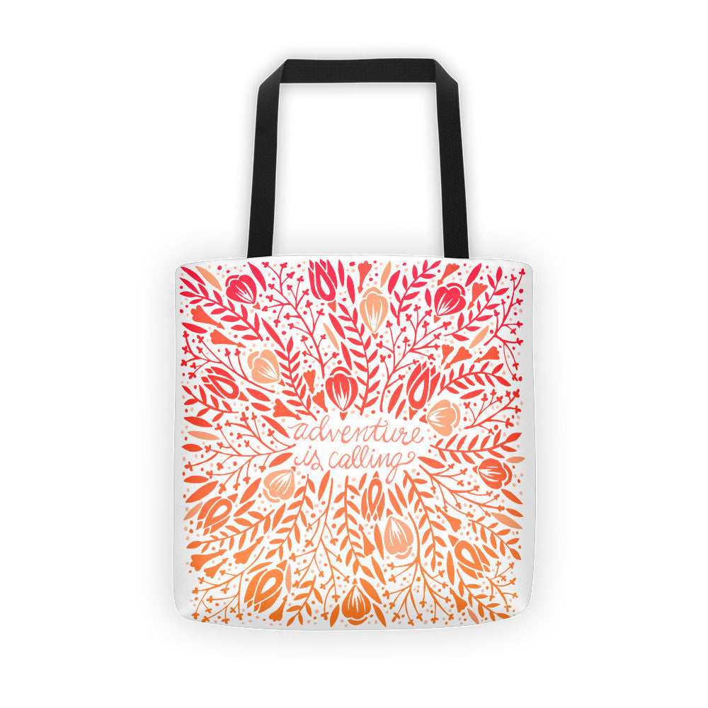 Adventure is Calling – Sunset Palette  •  Tote Bag