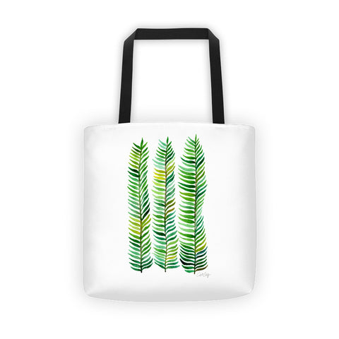 Stems – Green Palette  •  Tote Bag