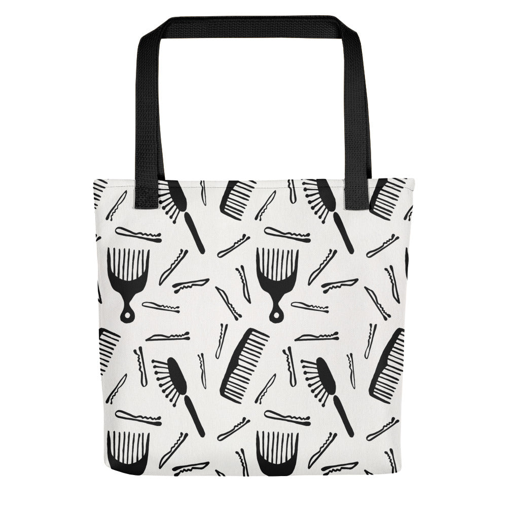 Good Hair Day – Black Ink • Tote Bag