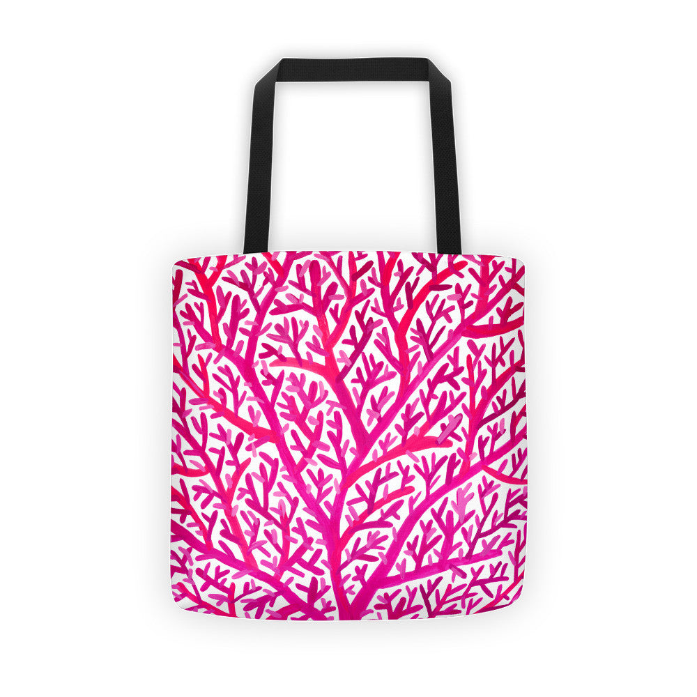 Fan Coral – Pink Palette • Tote Bag