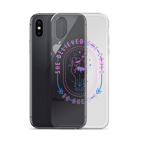 She Believed – Intergalactic Palette • iPhone Case