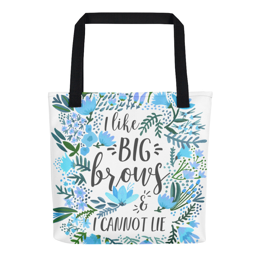 Big Brows – Blue Palette • Tote Bag