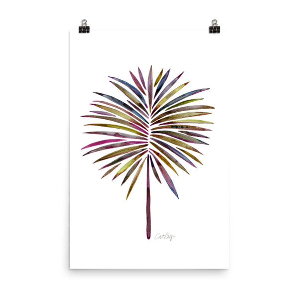 Fan Palm – Vintage Palette • Art Print
