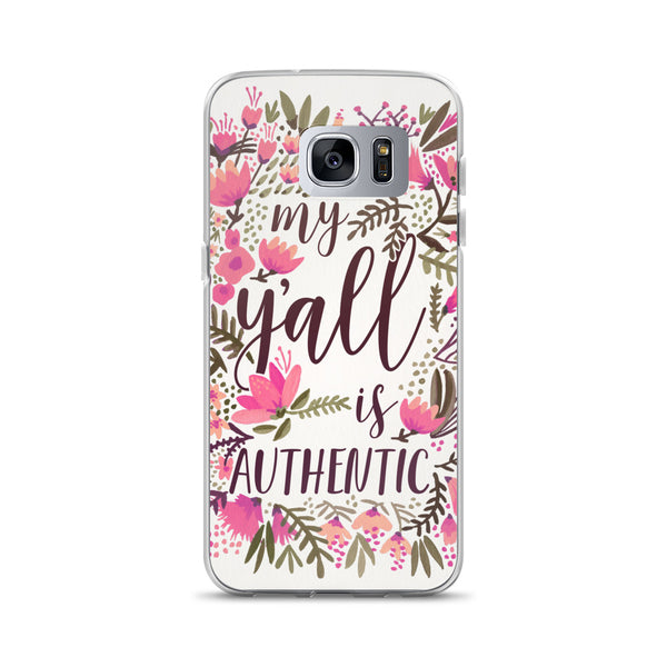 My Y'all is Authentic – Vintage Palette • Samsung Case