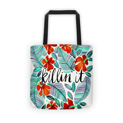 Killin' It – Red & Green  •  Tote Bag