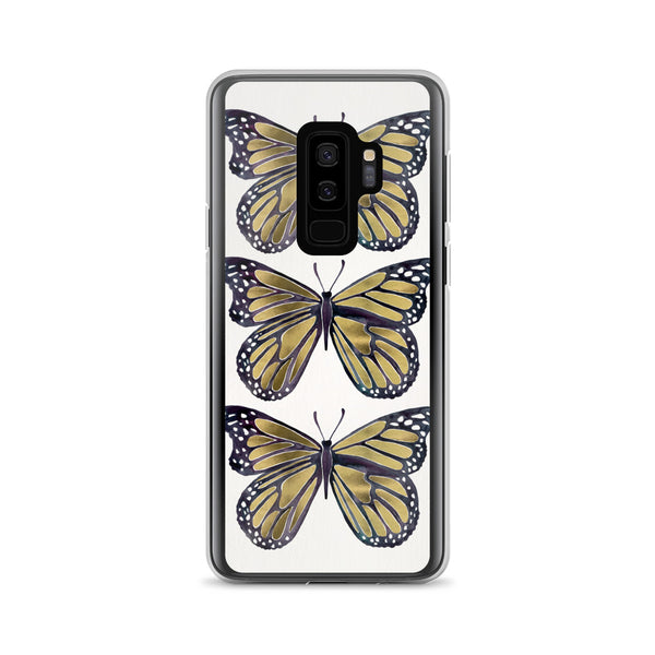 Butterfly – Gold Palette • Samsung Case