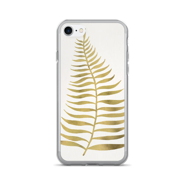 Palm Leaf – Gold Palette • iPhone 7/7 Plus Case