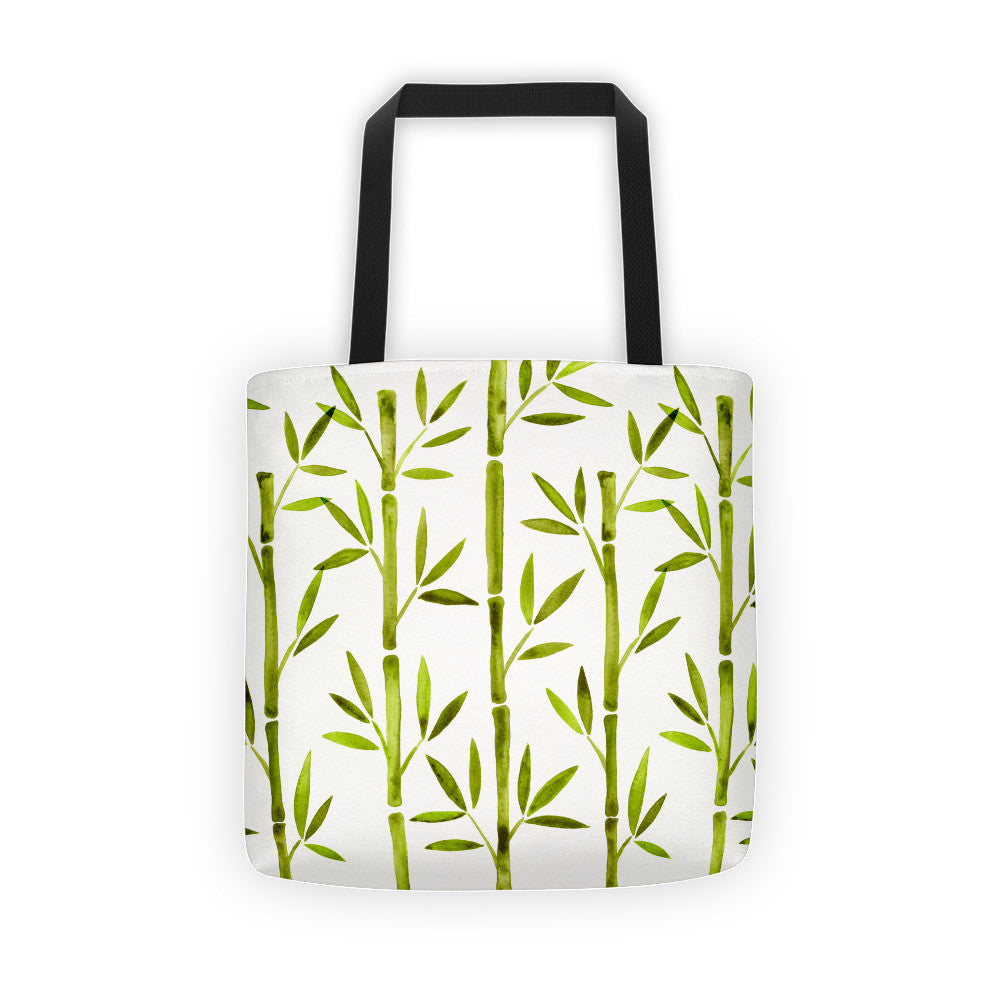 Bamboo – Lime Palette  •  Tote Bag
