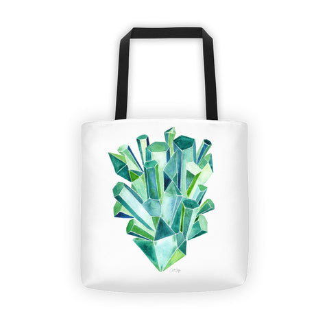 Emeralds • Tote Bag