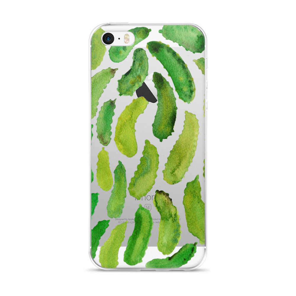 Pickles  •  iPhone 5/5s/Se, 6/6s, 6/6s Plus Case (Transparent)