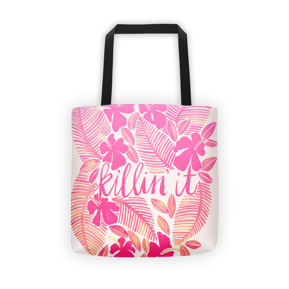 Killin' It – Pink Ombré  •  Tote Bag