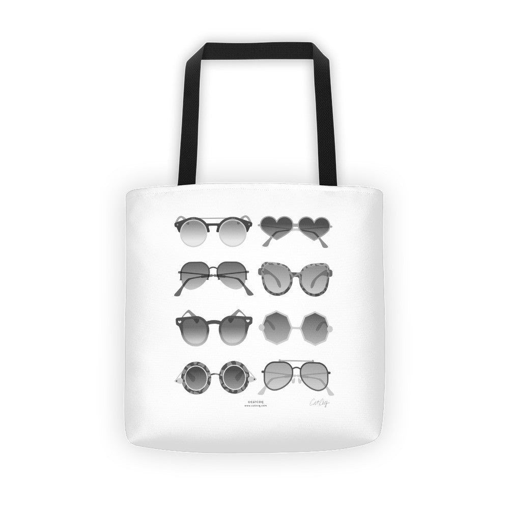 Sunglasses Collection – Black Palette  •  Tote Bag