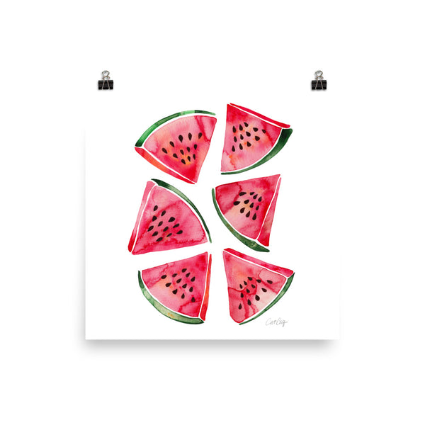 Watermelon Slices • Art Print