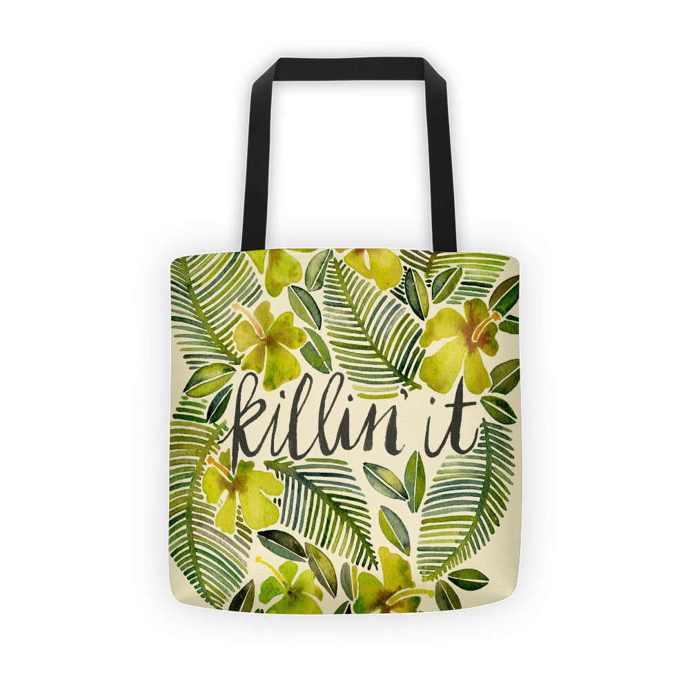 Killin' It – Yellow Palette  •  Tote Bag