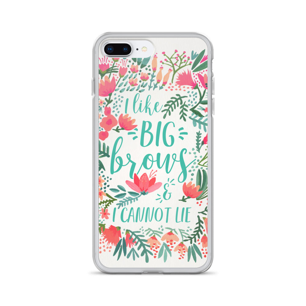 Big Brows – Juicy Palette • iPhone Case