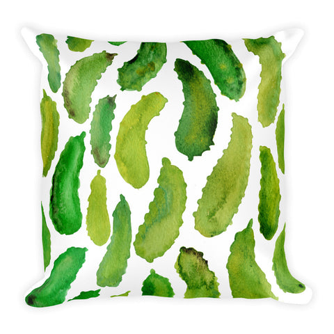 Pickles  •  Square Pillow