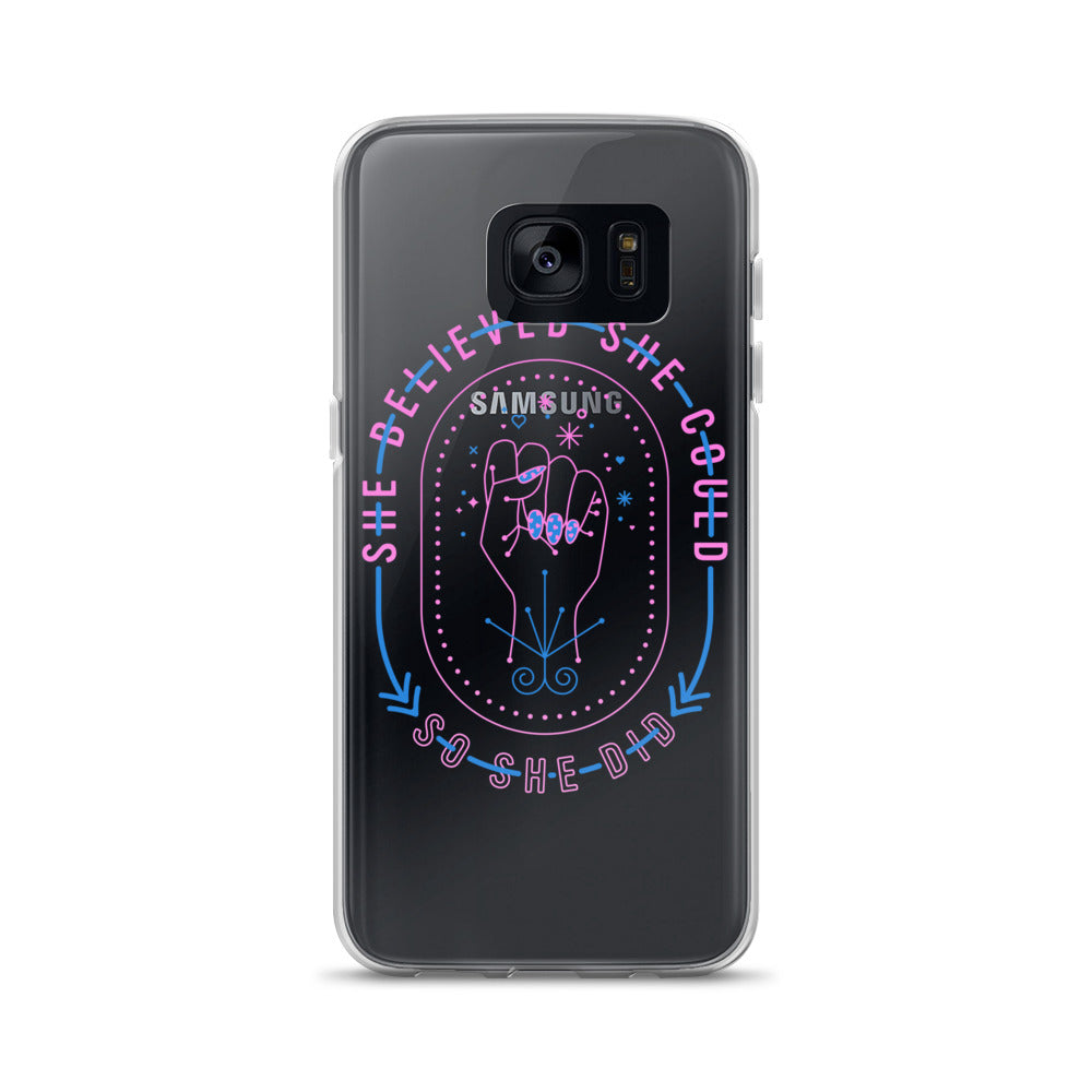 She Believed – Intergalactic Palette • Samsung Case