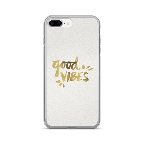 Good Vibes – Gold Palette • iPhone 7/7 Plus Case