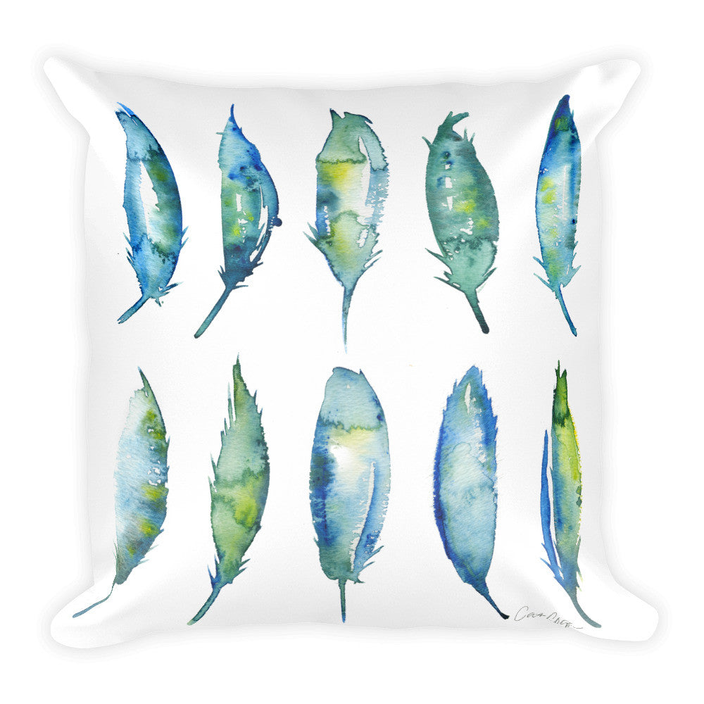 Feather Collection  •  Square Pillow