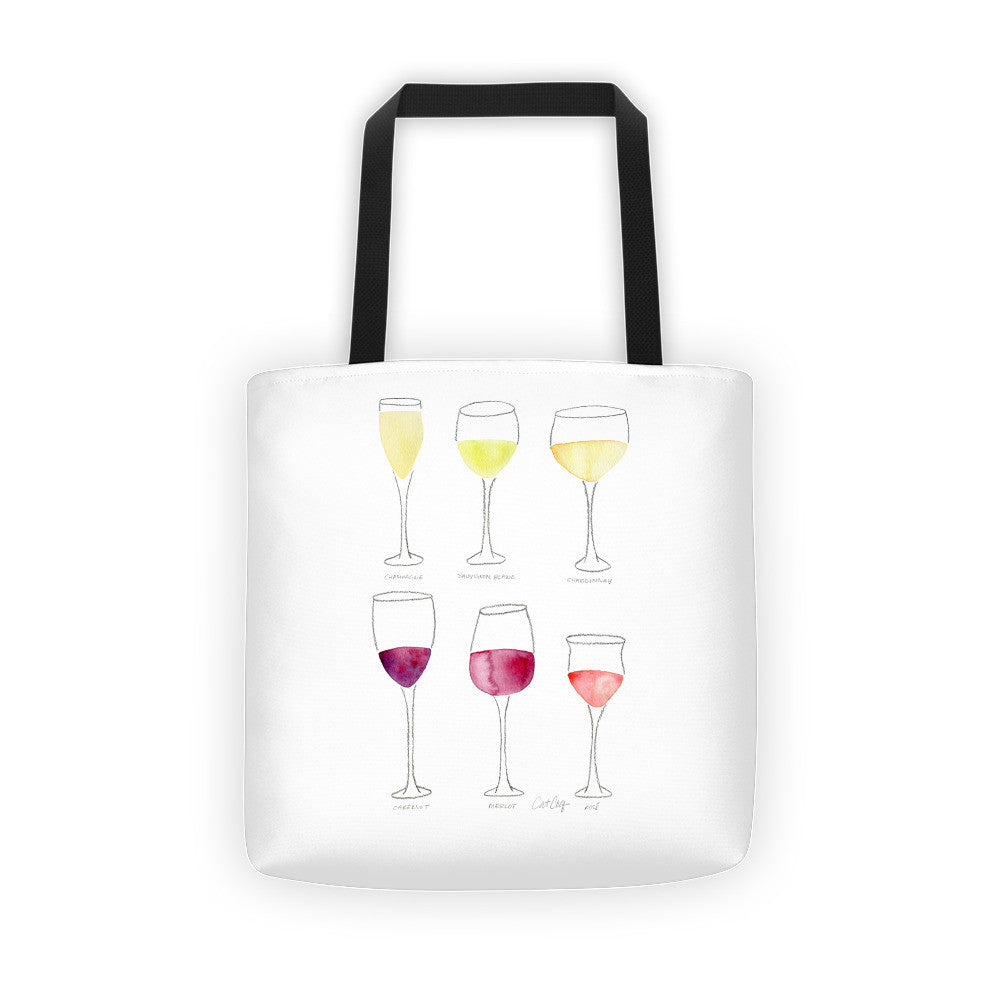 Wine Collection  •  Tote Bag
