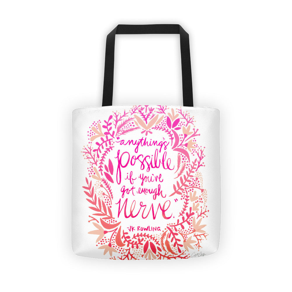 Anything's Possible – Pink Ombré Palette • Tote Bag