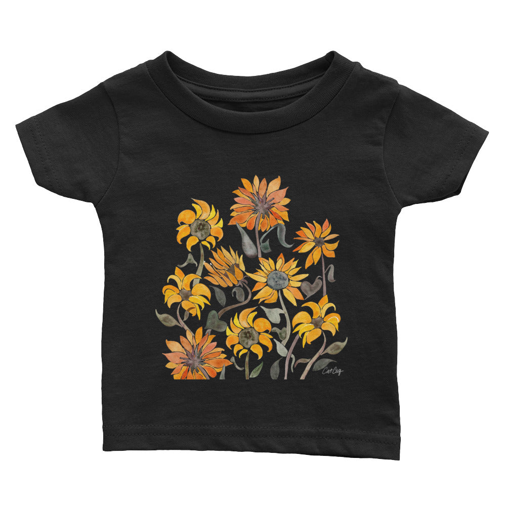 Sunflowers – Yellow Palette • Infant Tee