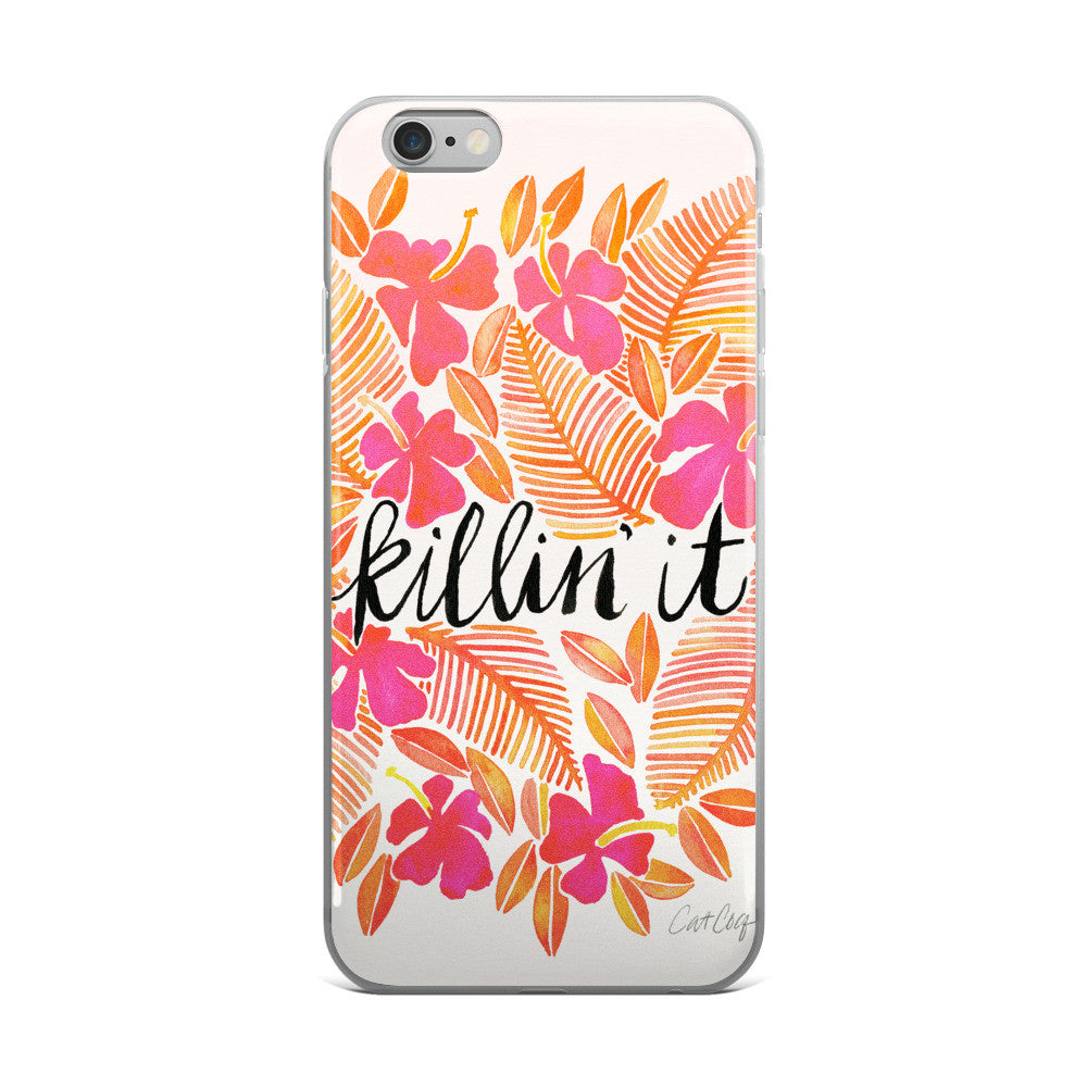 Killin' It – Melon Ombré Palette  •  iPhone 5/5s/Se, 6/6s, 6/6s Plus Case