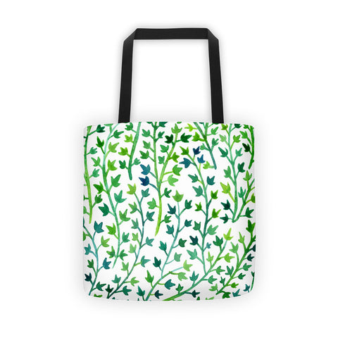 Ivy – Green Palette • Tote Bag