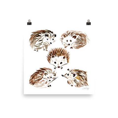 Hedgehogs • Art Print