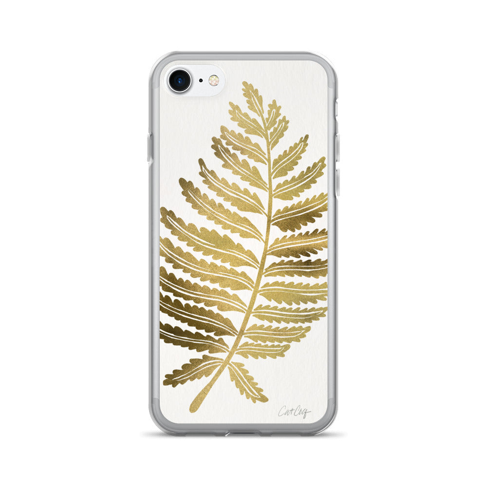 Fern Leaf – Gold Palette • iPhone 7/7 Plus Case
