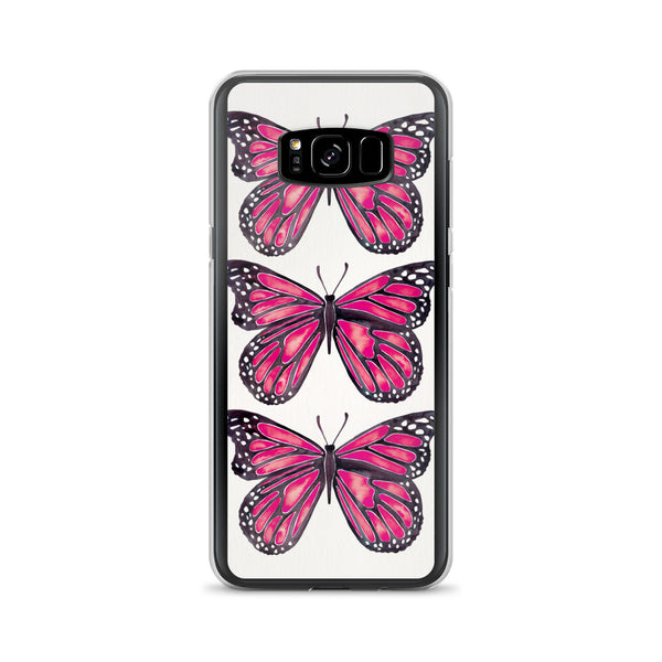 Butterfly – Pink Palette • Samsung Case